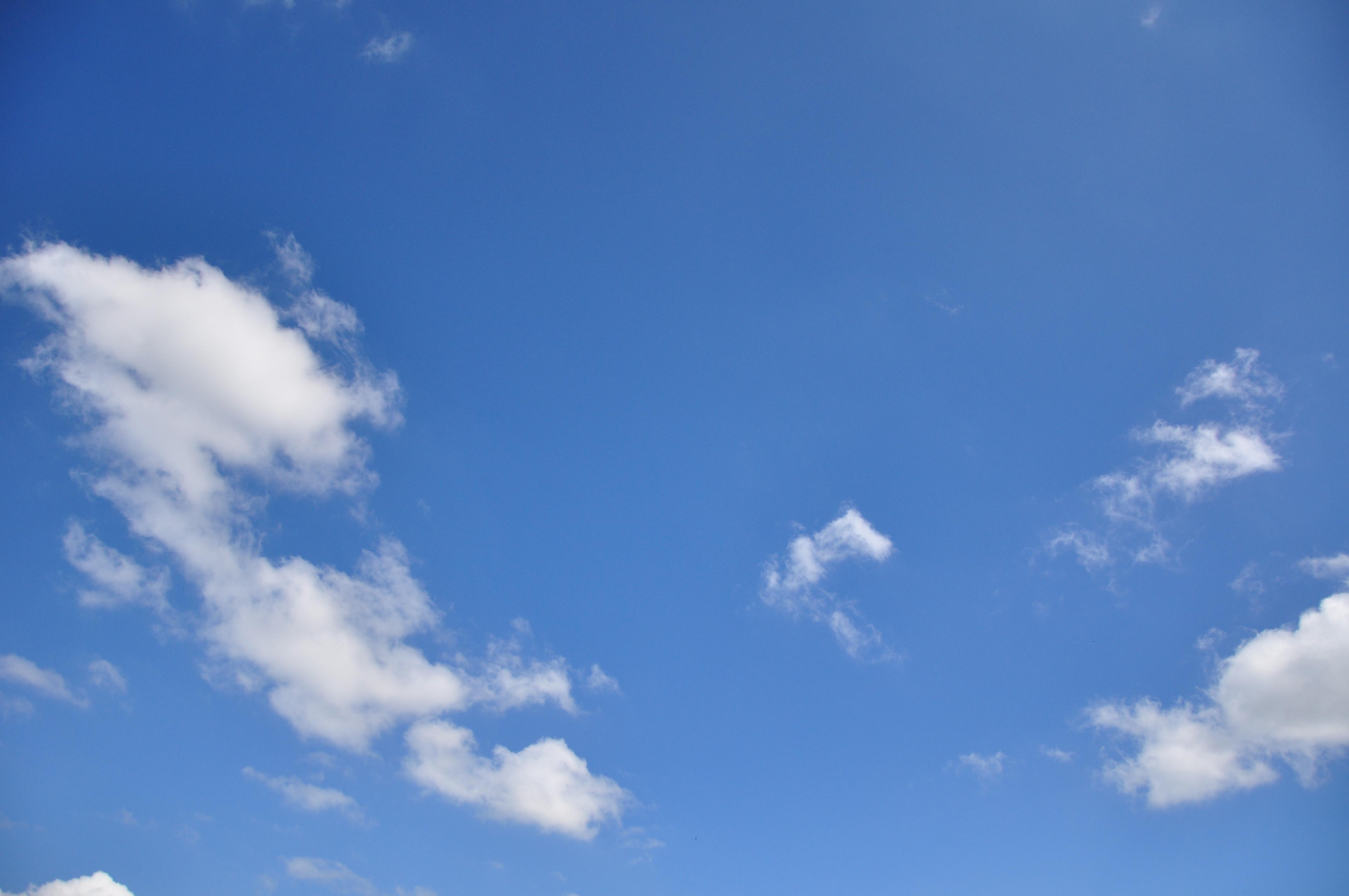 秋の青空~ナチュラル写真素材 無料ダウンロードフリー